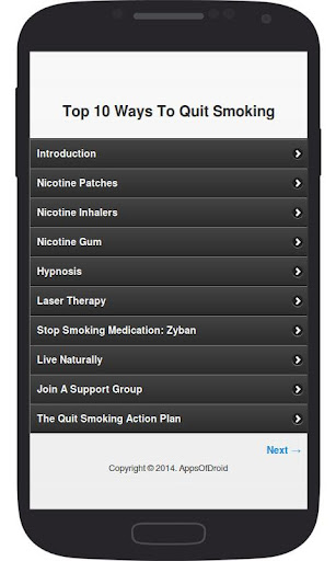 Top 10 Ways To Quit Smoking