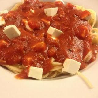 Quick and Easy Greek Spaghetti