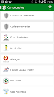 Screenshot of Copalive ( Live Scores)