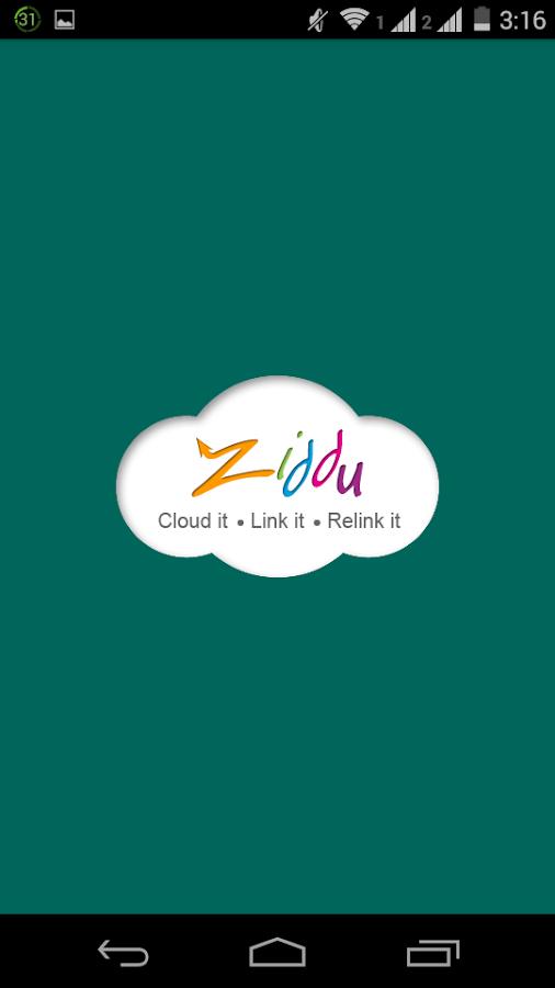 Ziddu - Free File Sharing - screenshot