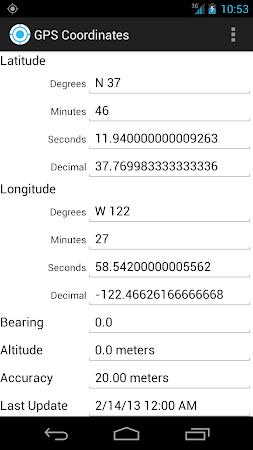 GPS Coordinates 1.1 screenshot 327979