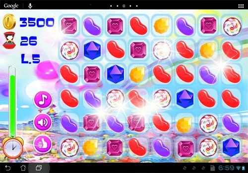 Candy Jewel Match 3 Free - screenshot