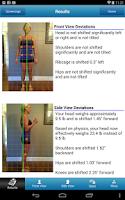 Screenshot of PostureScreen Mobile