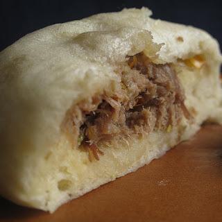 Nikuman - Japanese steamed buns.