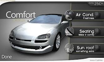 Screenshot of Hotrod - Kanzi UI Demo