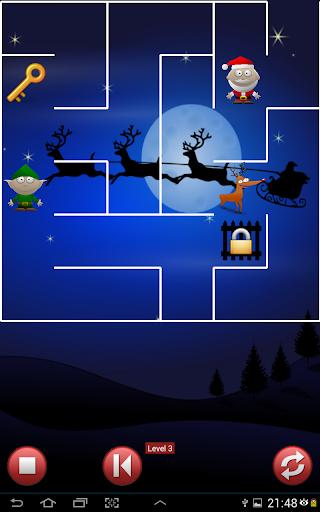 Xmas Maze Elf lost Reindeer