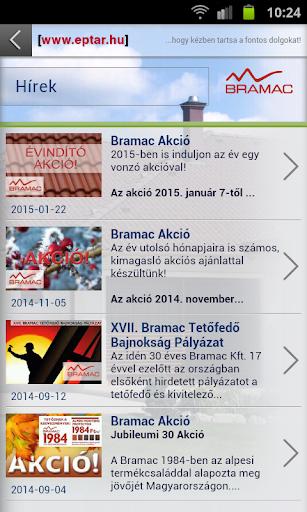 Bramac Mobil App