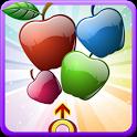 Apple Fruit  Bubble Shooter icon