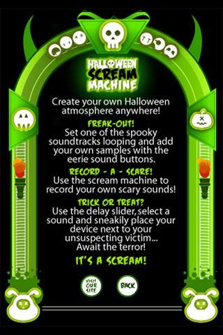 The Halloween Scream Machine - screenshot