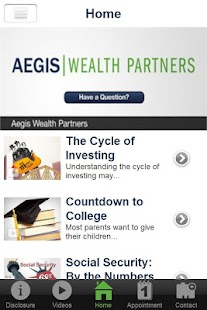 Aegis Wealth Partners- screenshot thumbnail