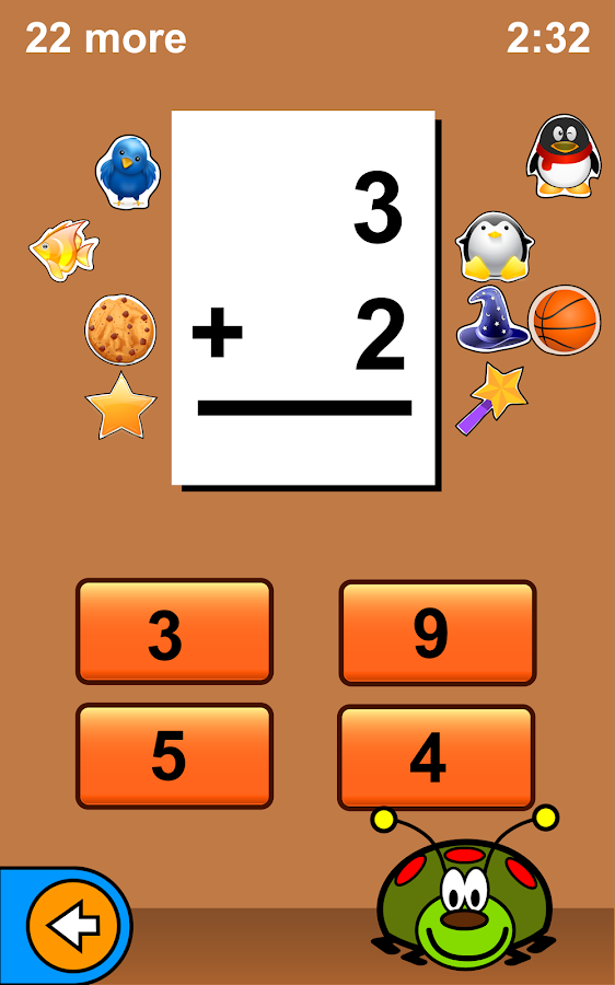 Bugaboo Math Flash Cards- screenshot