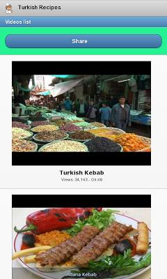 Turkish Recipes - screenshot