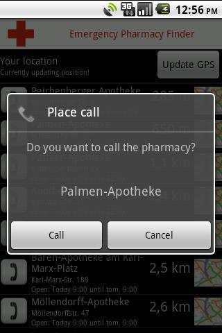Emergency Pharmacy Finder- screenshot