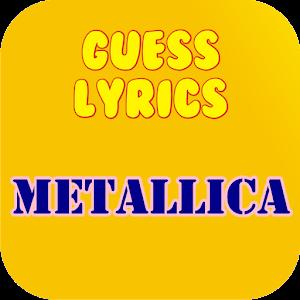 Guess Lyrics: Metallica