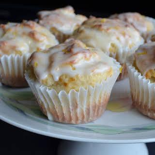 Lemony Greek Yogurt Muffins.