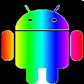 Rainbow Theme (go launcher ex)