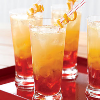 Zingy Orange Sunset Fizz