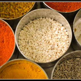 Indian Spices by Ananth Eswar - Food & Drink Ingredients ( food, ananth eswar, alpha, alpha photography, spices )