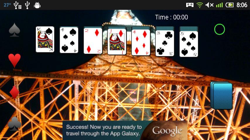 Card Solitaire - screenshot