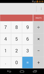 Calculator Donate(CyanogenMod) - screenshot thumbnail