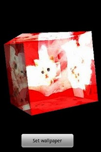 3D cute cat 15- screenshot thumbnail