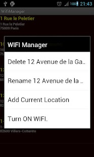 Wifi Manager PRO - screenshot thumbnail