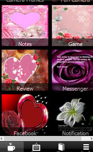Valentine Season Frame