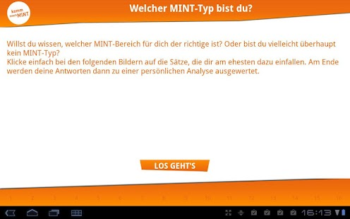 MINT-Test – Miniaturansicht des Screenshots