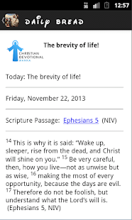 Christian Devotional Manna- screenshot thumbnail