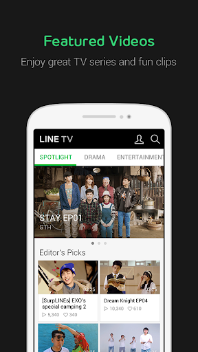LINE TV  screenshots 1