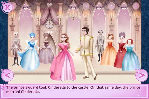 Cinderella Story Fun Educational Girls Games 1.4.0 Screenshots 4