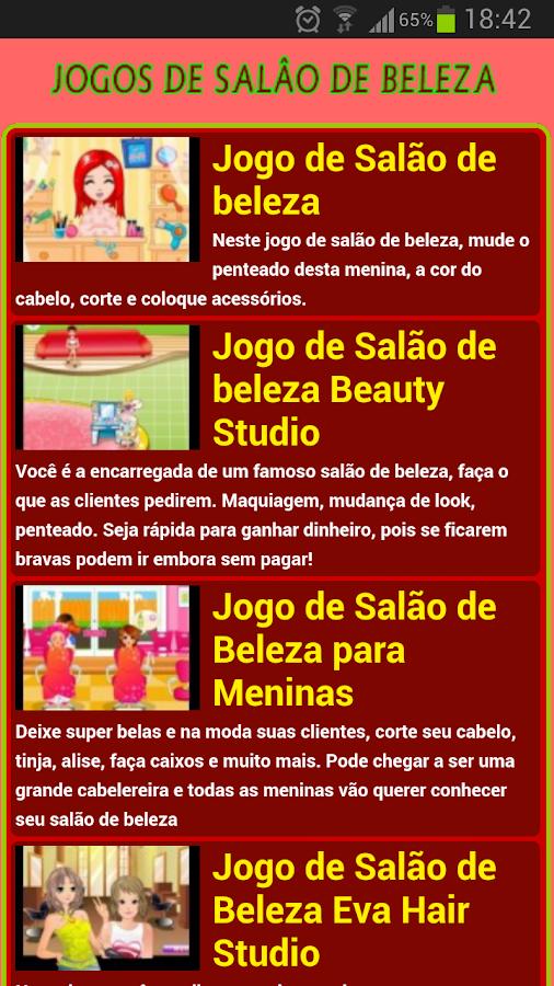 Jogos de salão de beleza - screenshot
