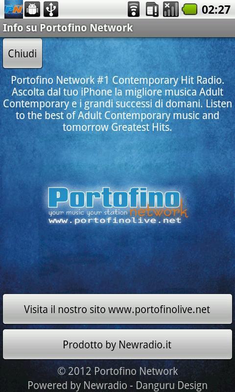 Portofino Network- screenshot