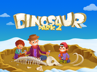 Fossil dig Games for kids