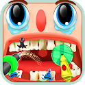 Clumsy Dentist Fiasco for Kids icon