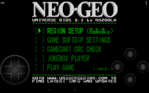 NEO.emu - screenshot thumbnail