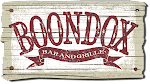 Logo for Boondox Bar and Grille