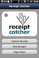 Screenshot of Receipt Catcher