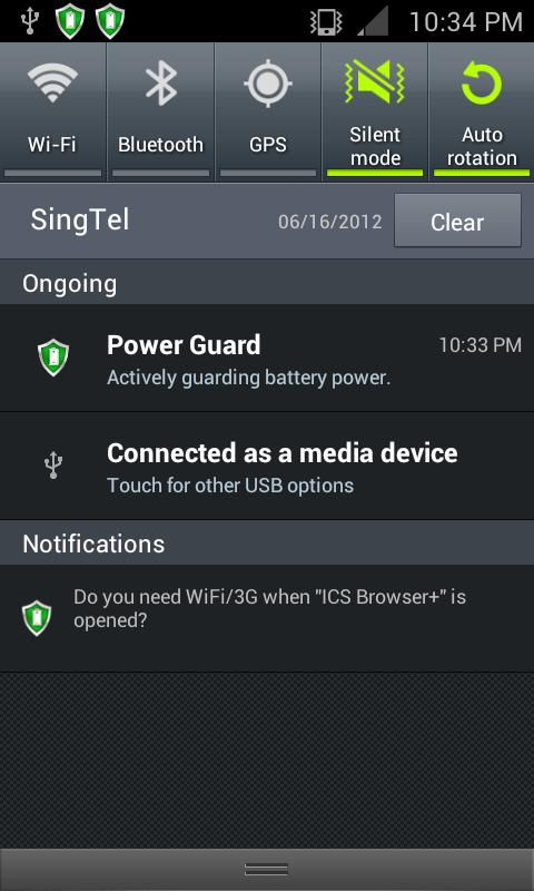 Power Guard - Battery Saver - screenshot