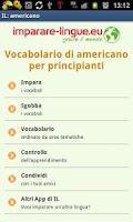 Screenshot of Imparare americano