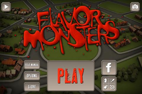 Flavor Monsters- screenshot