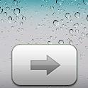 iPhone lockscreen HD logo