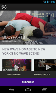 WillCall, SF + NYC + LA - screenshot thumbnail