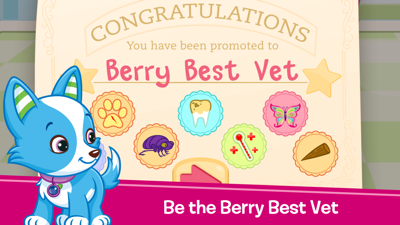 Strawberry Shortcake Puppy Dr Apl Android Di Google Play