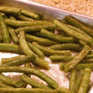 Oven- Roasted Green Beans.