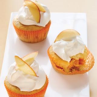 Nectarine Cupcake.