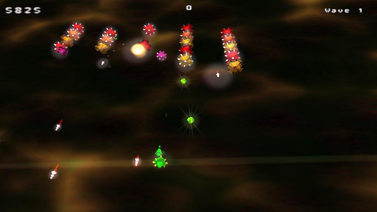 Saucer Invasion- screenshot