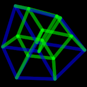 4D Hypercube Live Wallpaper