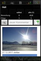 Screenshot of RC-Log  Lipo & Flightlog