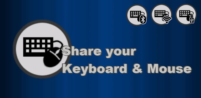 share mouse and keyboard with android